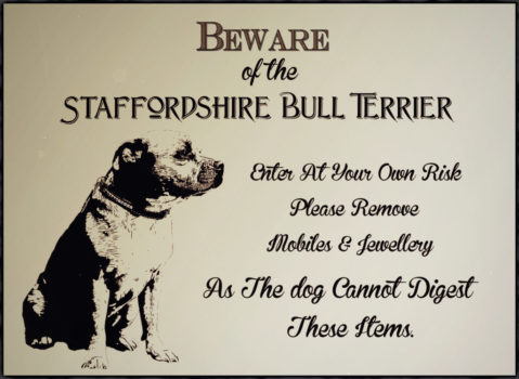 Toys & original design staffordshire Bull Terrier