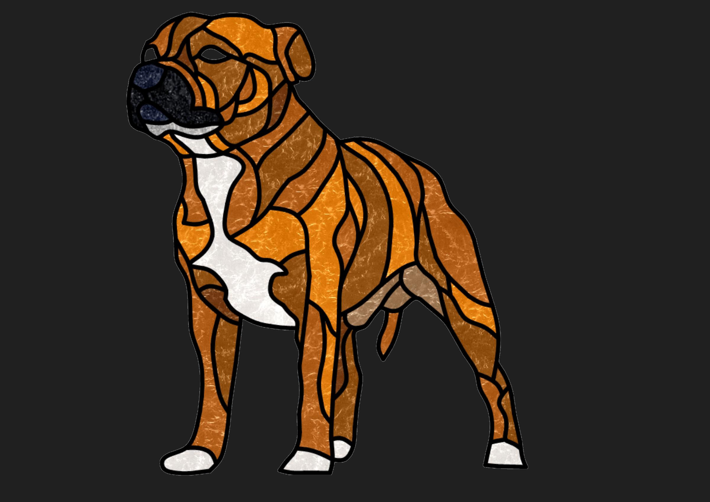 Toys & original design staffordshire Bull Terrier